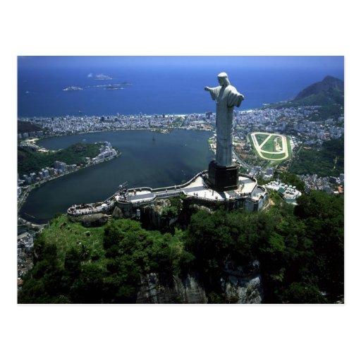 POSTKARTE RIO DE JANEIRO BRASILIEN