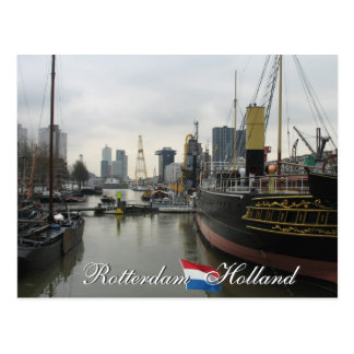 Postkarte Rotterdams Holland