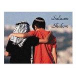 Postkarte Salaams Shalom