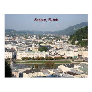 Postkarte Salzburgs, Österreich
