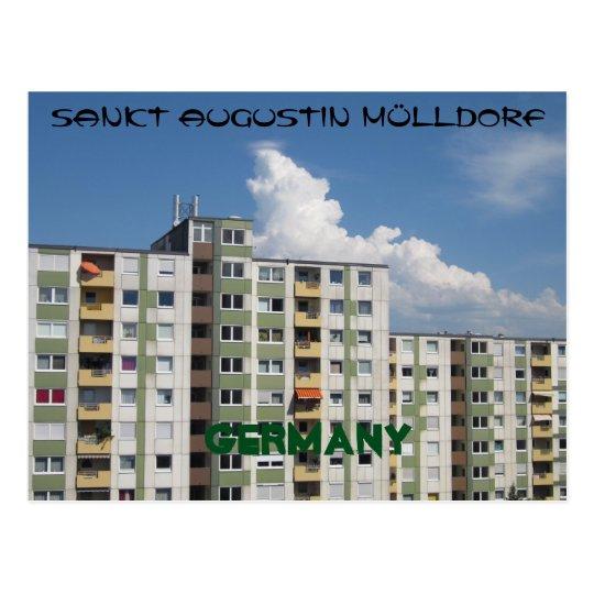 "Postkarte ""Sankt Augustin Mülldorf Germany"""