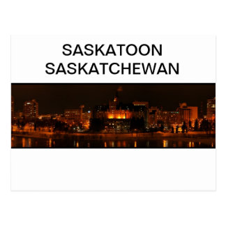 Postkarte Saskatoons Saskatchewan