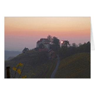 Postkarte Schloss Staufenberg