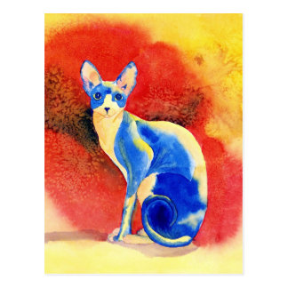 Postkarte Sphynx Katzen-#1