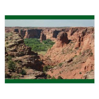 Postkarte Spinne Rock Canyon de Chelly Arizona