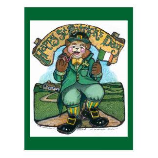 Postkarte St. Patricks Tages