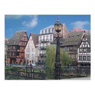 Postkarte Straßburgs Frankreich