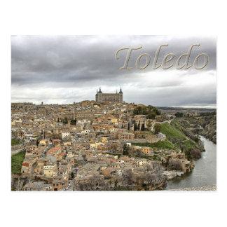Postkarte Toledos Rio Tajo Kastilien-La Mancha