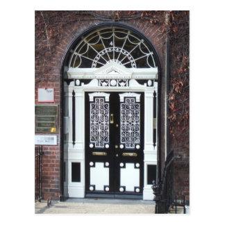 Postkarte: Türen von Dublin Postkarte