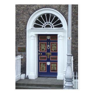 Postkarte: Türen von Dublin Postkarten