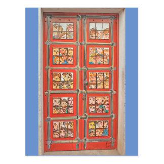 Postkarte - Türen von Madeira