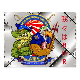 Postkarte USSs BHR LHD-6