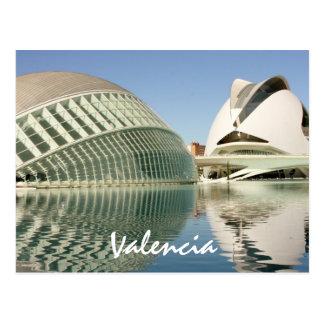 Postkarte Valencias Spanien