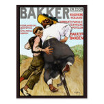 Postkarte:   Vintage Anzeige für Postkarte