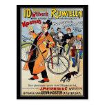 Postkarte: Vintage FahrradGebrauchsgrafik Postkarten