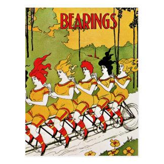 Postkarte: Vintage Werbung - Fahrrad-Lager Postkarte