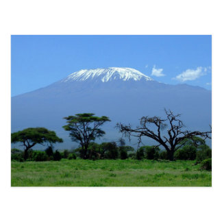 Postkarte vom Mount Kilimanjaro