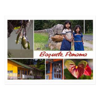 Postkarte von Boquete, Panama
