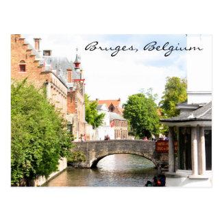 Postkarte von Brügge, Belgien