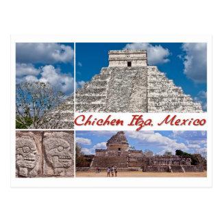 Postkarte von Chichen Itza, Mexiko