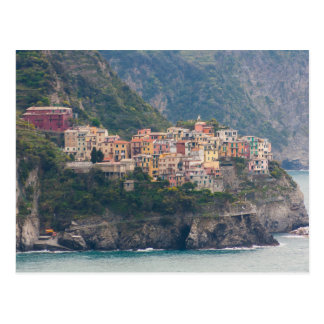 Postkarte von Corniglia, Cinque Terre, Italien