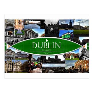 Postkarte von Dublin