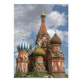 Postkarte von Moskau