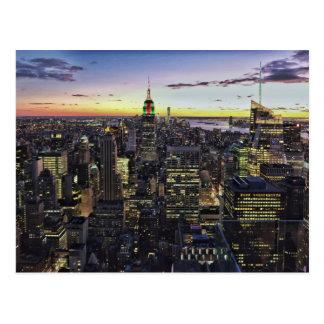 Postkarte von New York