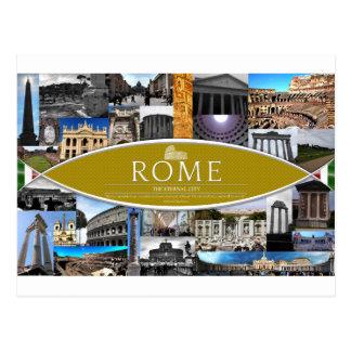 Postkarte von Rom