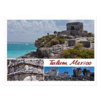 Postkarte von Tulum, Mexiko