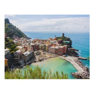 Postkarte von Vernazza, Cinque Terre, Italien