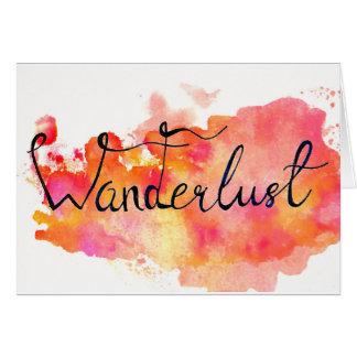 "Postkarte ""Wanderlust"""