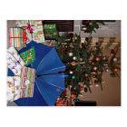 Postkarte - Weihnachten beim Blauen Schirm