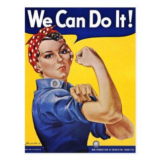 Postkarte: Wir können sie tun - Vintages Postkarte