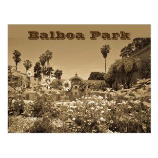Postkarten-Balboa-Parksepia-Ton Postkarte