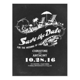 Postkarten des Tafelstrandes Save the Date
