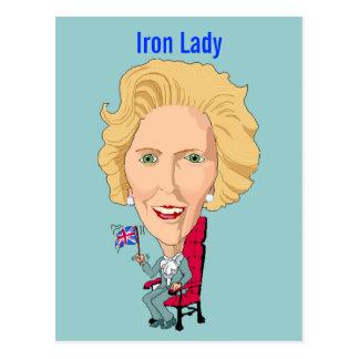 Postkarten-ehemaliger britischer Premierminister Postkarte
