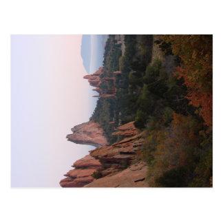 Postkarten-Garten der Götter Colorado Springs Postkarte