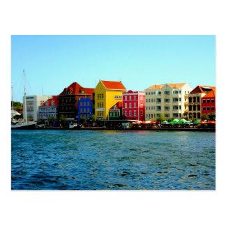 Postkarten-Hafen von Willemstad Curaçao Postkarte