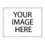 Postkarten-horizontale Schablone
