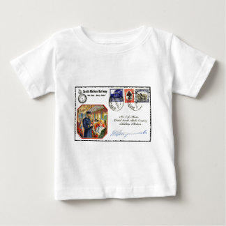 Postkarten-Kunst Baby T-shirt