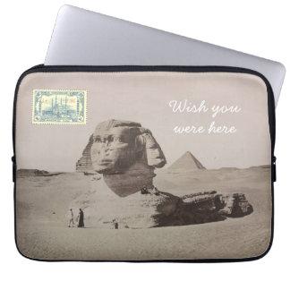 Postkarten-Laptop-Hülse - Kairo, Ägypten Laptop Sleeve
