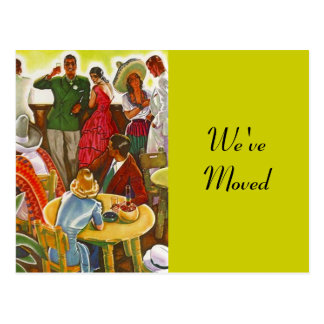 Postkarten-Retro festlicher Südwesten bewegte neue Postkarte