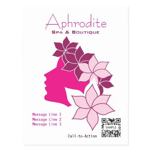 Postkarten-Schablonen-Aphrodite-Wellness-Center u.