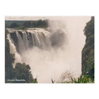Postkarten-Victoria-Wasserfälle Postkarte