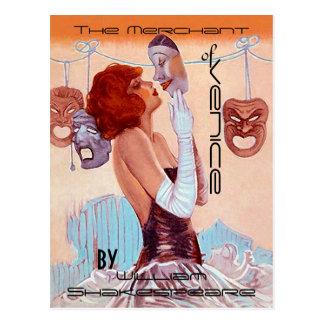 Postkarten Vintager Theater-Plakat-Blick