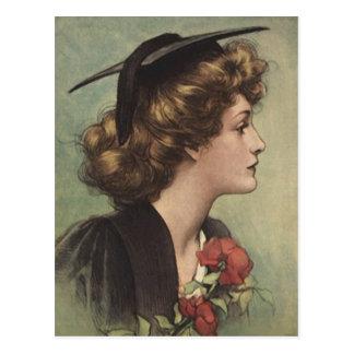 Postkarten-Vintages Abschluss Design für Einladun