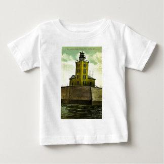 Postkartenleuchtturm HAFEN-AUSTINS MICHIGAN Baby T-shirt