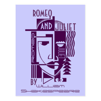 PostkartePromo Shakespeare Romeo u. Juliet Spiel Postkarte