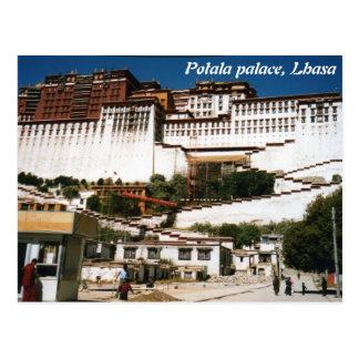 Potala-Palast, Lhasa, Postkarte